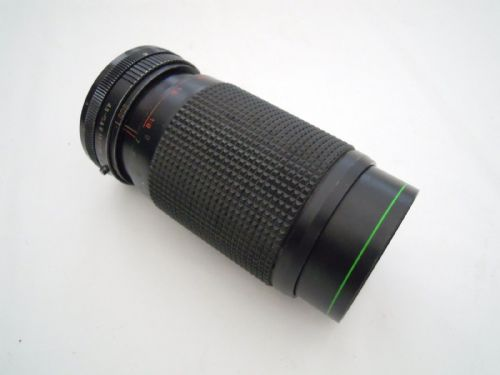 HANIMEX AUTO ZOOM 80-200MM F4.5 CANON FD FIT MACRO MC LENS